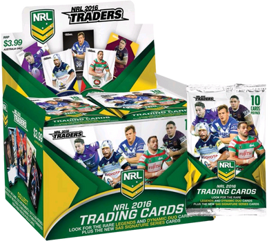 2016 Traders NRL 36 pack box