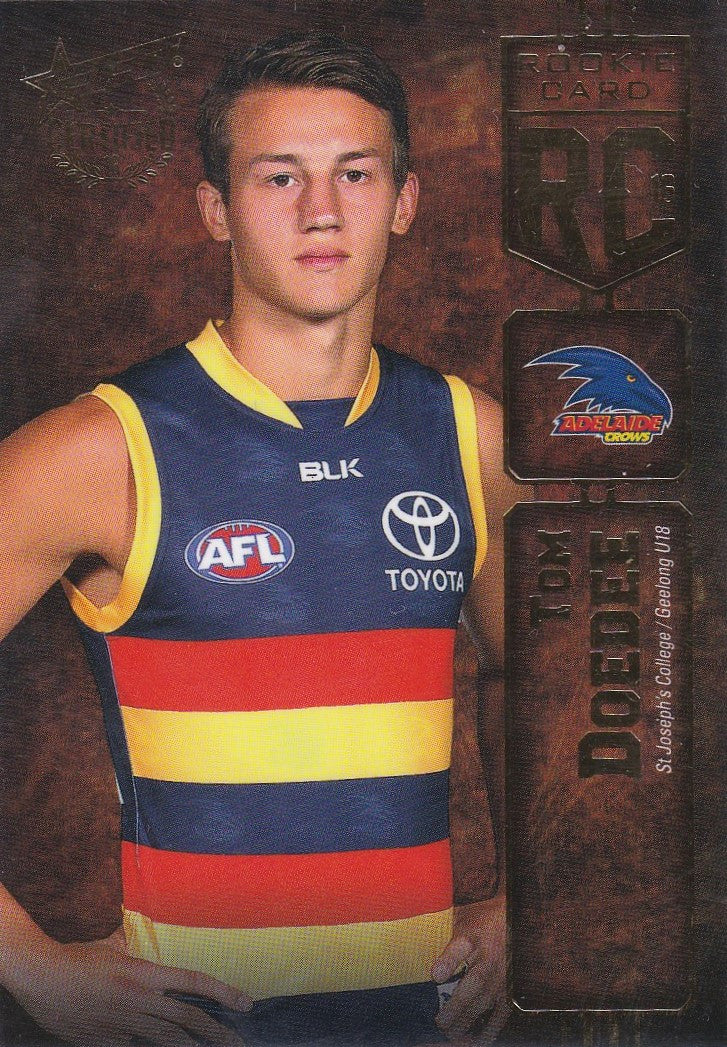 2016 Select AFL Certified, Rookie Card, Tom Doedee
