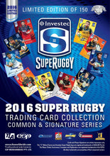 2016 Super Rugby Trading Card Collection