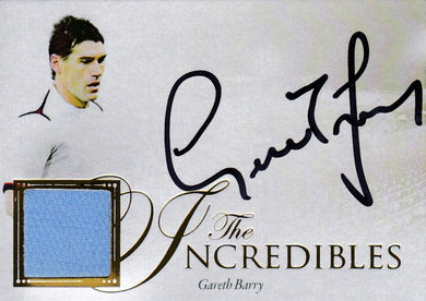 Gareth Barry, The Incredibles, 2016 Futera Unique Soccer