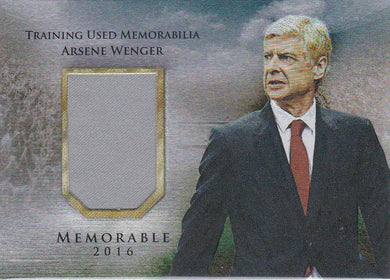 Arsene Wenger, Memorable, 2016 Futera Unique Soccer