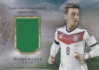 Mehmet Ozil, Memorable, 2016 Futera Unique Soccer