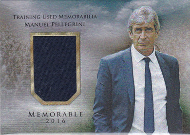 Manuel Pelligrini, Memorable, 2016 Futera Unique Soccer