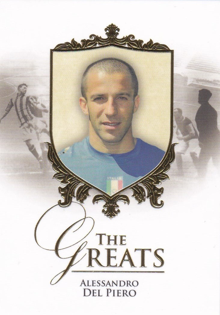 Alessandro Del Piero, The Greats, 2016 Futera Unique Soccer