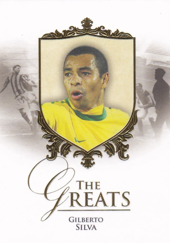 Gilberto Silva, The Greats, 2016 Futera Unique Soccer