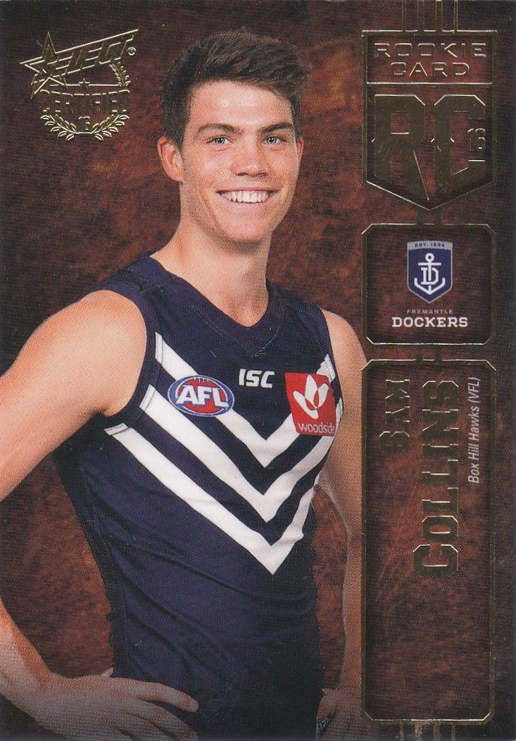 2016 Select AFL Certified, Rookie Card, Sam Collins