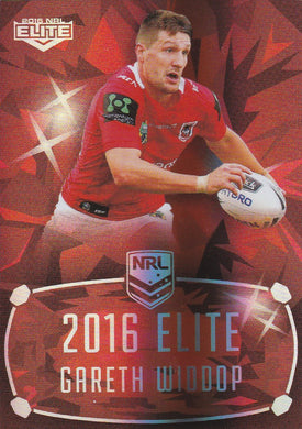 St George Dragons, Ruby Mojo set, 2016 ESP Elite NRL
