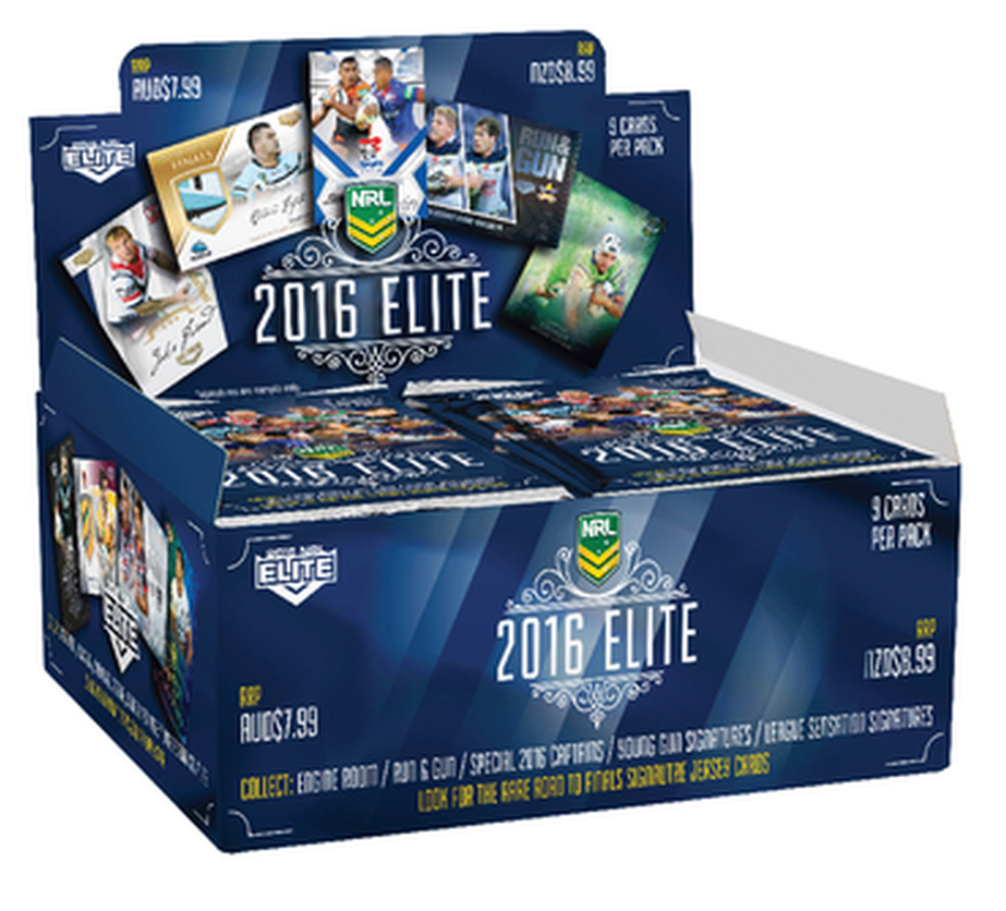2016 esp Elite NRL 24 pack box