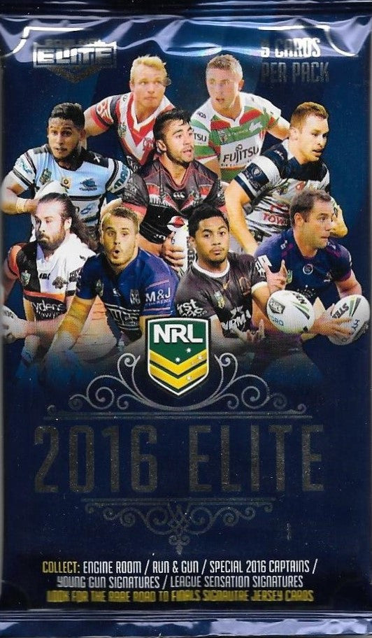 2016 NRL Elite Pack of cards