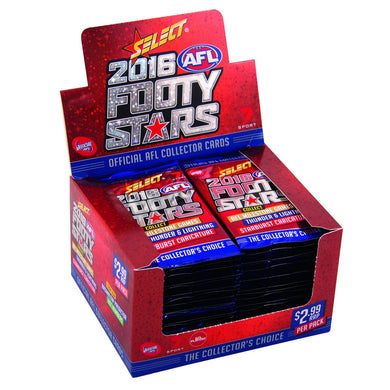 2016 Select AFL Footy Stars 36 pack box