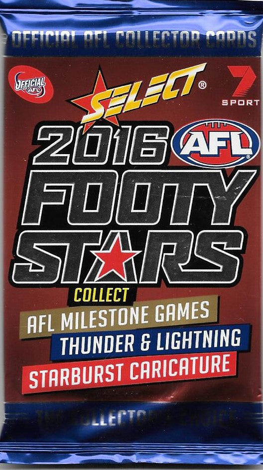 2016 Select AFL Footy Stars Pack