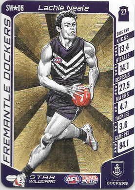 Lachie Neale, Star Wildcard, 2016 Teamcoach AFL