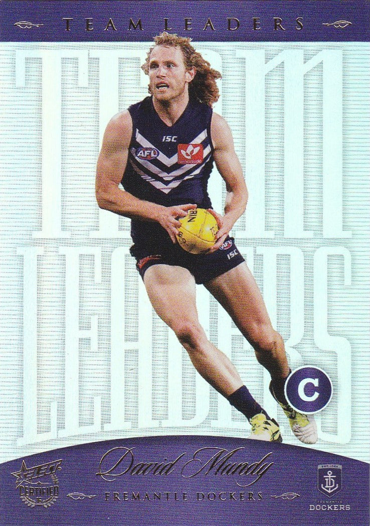 2016 Select AFL Certified, Team Leaders, David Mundy
