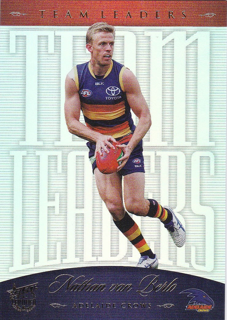 2016 Select AFL Certified, Team Leaders, Nathan van Berlo