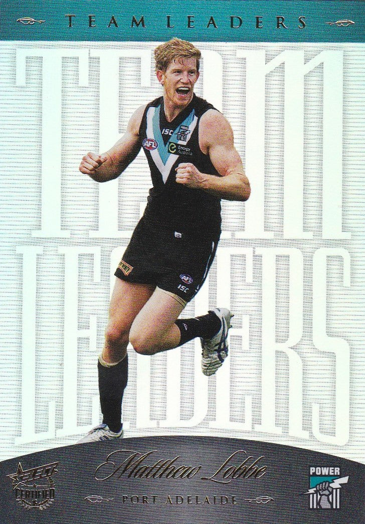 2016 Select AFL Certified, Team Leaders, Matthew Lobbe