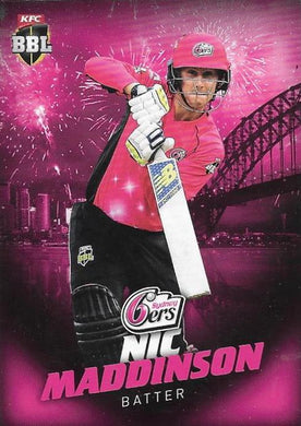 2017-18 Tap'n'play CA BBL 07 Common Cricket card - 1 to 100 - Pick Your Card