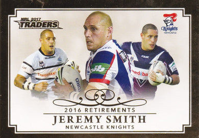 Jeremy Smith, Retirements, 2017 ESP Traders NRL