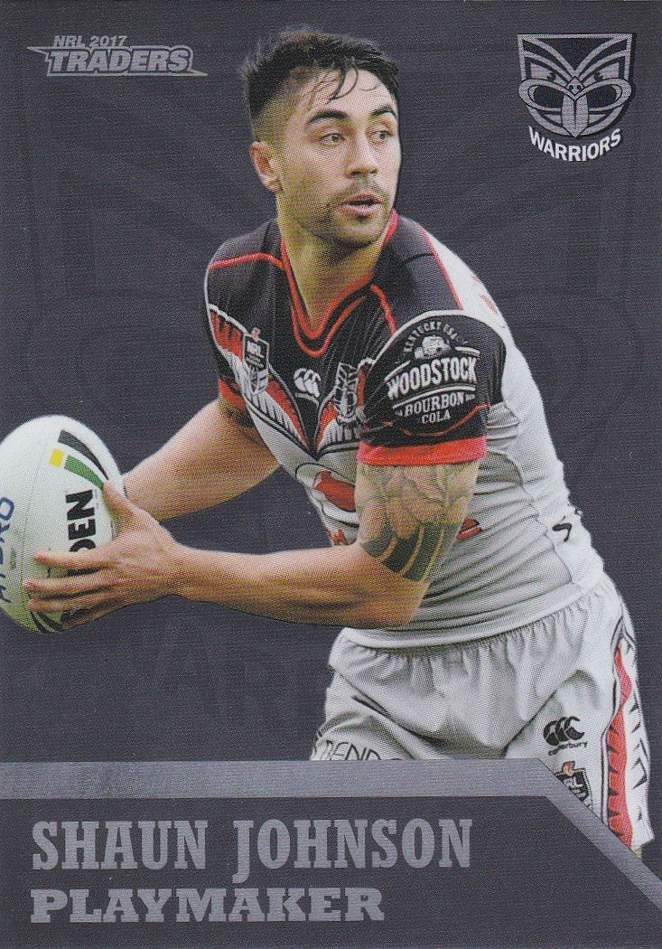 Shaun Johnson, Playmaker, 2017 ESP Traders NRL
