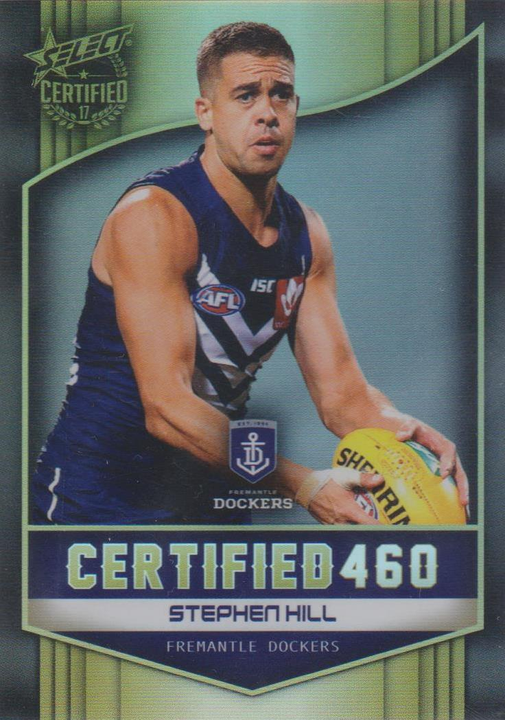 Stephen Hills, Certified 460, 2017 Select AFL Certified