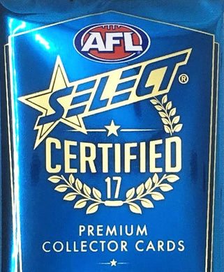 2017 Select AFL Certified Set of 221 Football cards