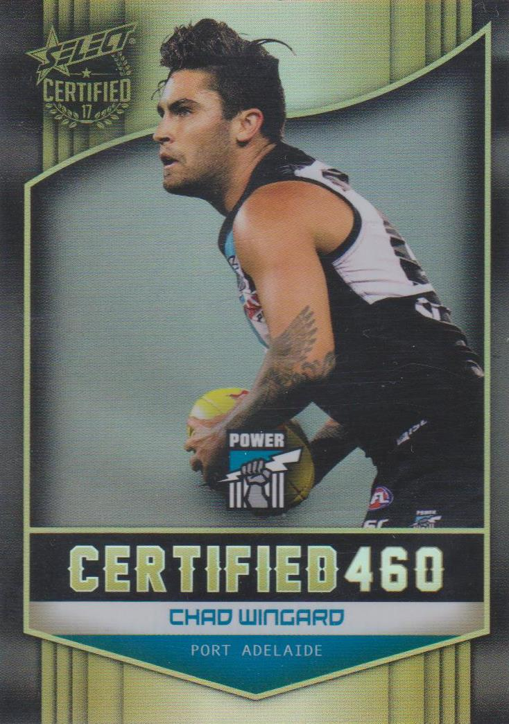 Chad Wingard, Certified 460, 2017 Select AFL Certified