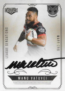 Manu Vatuvei, League Sensations Signature, 2017 esp Elite