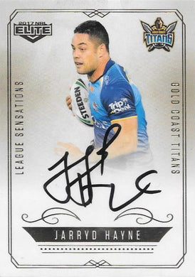 Jarryd Hayne, League Sensations Signature, 2017 esp Elite