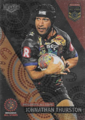 Johnathan Thurston, All Stars Box card, 2017 esp Elite