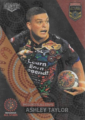 Ashley Taylor, All Stars Box card, 2017 esp Elite