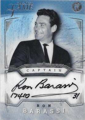 Ron Barassi, Captain, 2017 Regal Football Greats of the Game