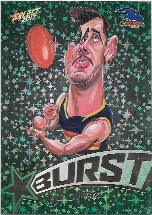 Taylor Walker, Starburst Caricatures, 2017 Select AFL Stars