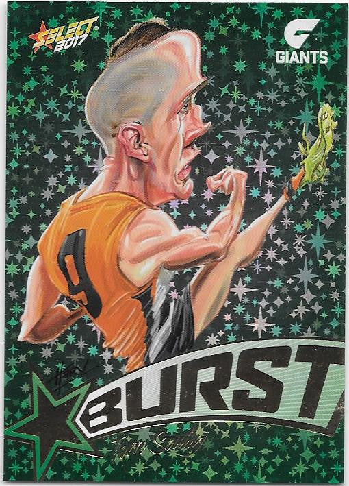 Tom Scully, Starburst Caricatures, 2017 Select AFL Stars