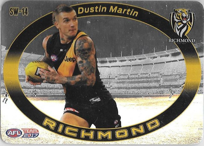 Dustin Martin, Star Wildcard, 2017 Teamcoach AFL