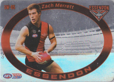 Zach Merrett, Star Wildcard, 2017 Teamcoach AFL