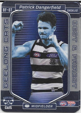 Patrick Dangerfield, Best and Fairest, 2017 Teamcoach AFL
