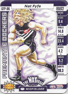 Nat Fyfe, Glow Footy Powers, 2017 Teamcoach AFL