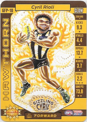 Cyril Rioli, Glow Footy Powers, 2017 Teamcoach AFL