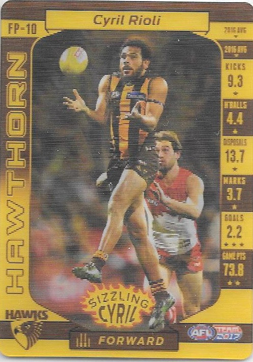 Cyril Rioli, Footy Powers, 2017 Teamcoach AFL