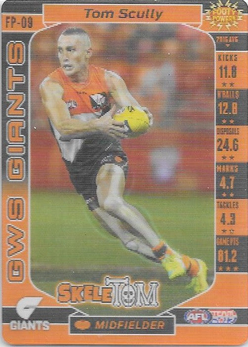 Tom Scully, Footy Powers, 2017 Teamcoach AFL