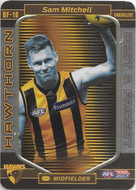 Sam Mitchell, Best and Fairest, 2017 Teamcoach AFL
