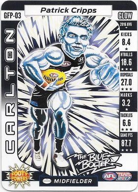 Patrick Cripps, Glow Footy Powers, 2017 Teamcoach AFL