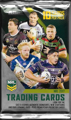 2017 NRL Traders Pack of cards