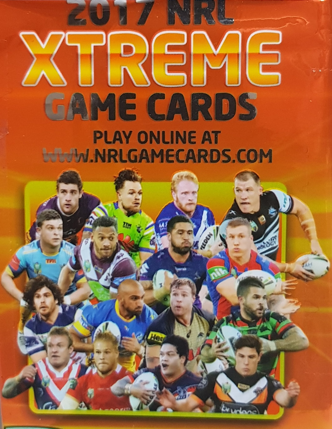 2017 esp Xtreme NRL Base set of 160 cards