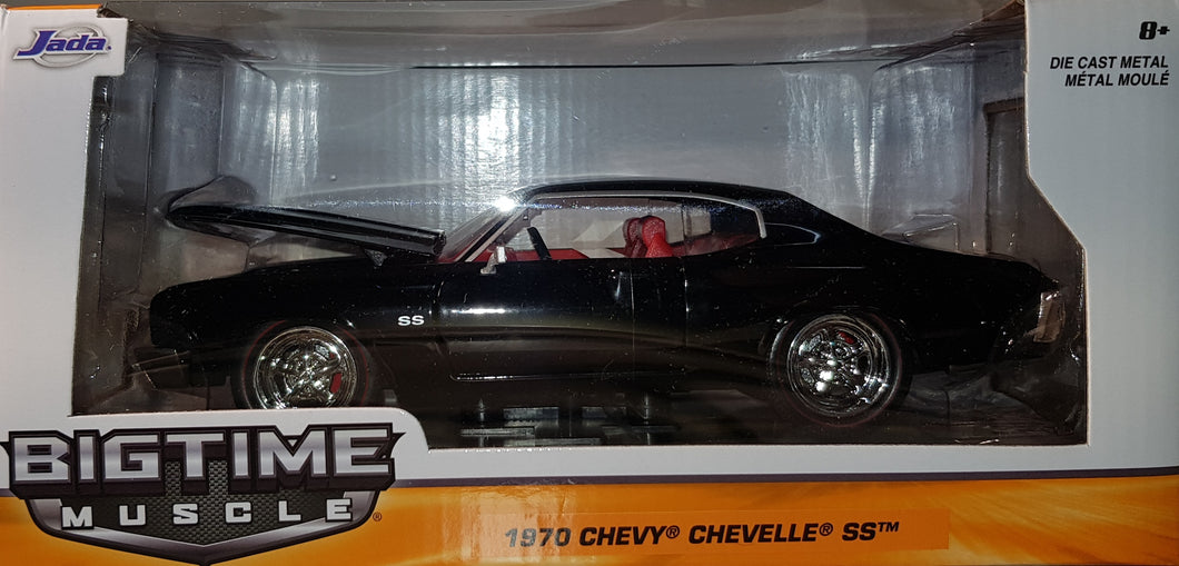 1970 Chevy Chevelle SS, Big Time Muscle, 1:24 Diecast Vehicle