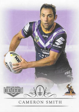 Cameron Smith, Box card, 2018 TLA esp Elite NRL
