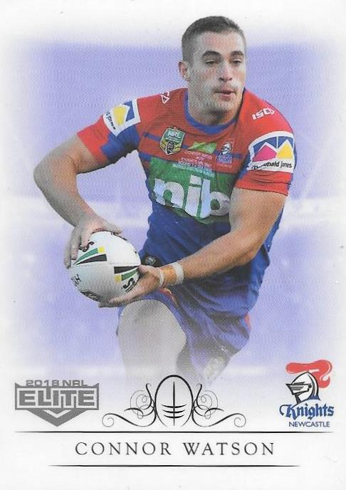 Connor Watson, Box card, 2018 TLA esp Elite NRL