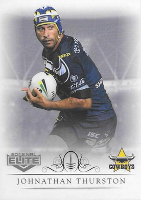 Johnathan Thurston, Box card, 2018 TLA esp Elite NRL