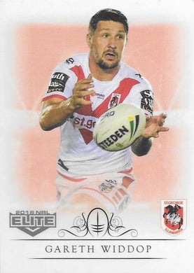 Gareth Widdop, Box card, 2018 TLA esp Elite NRL