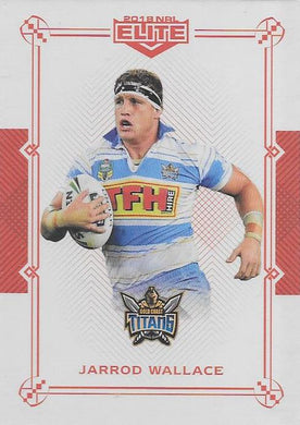 Jarrod Wallace, Ruby Mojo parallel, 2018 TLA esp Elite NRL