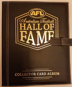 2018 Select AFL Hall of Fame Collector Card Album